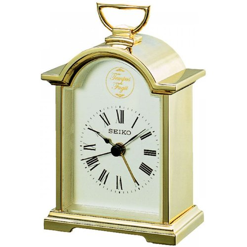 Montre horloge seiko clocks carriage mantel clock qhe004g