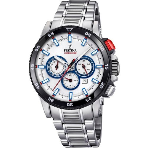 Montre chronographe homme festina chrono bike 2018 collection f20352/1