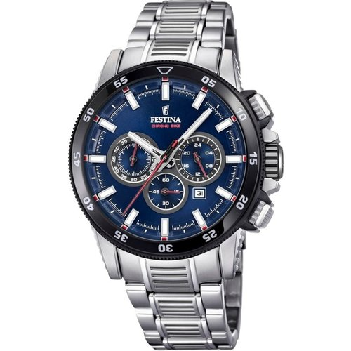 Montre chronographe homme festina chrono bike 2018 collection f20352/3