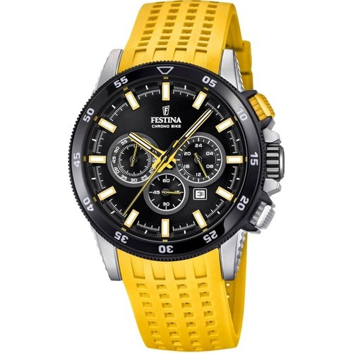 Montre chronographe homme festina chrono bike 2018 collection f20353/5
