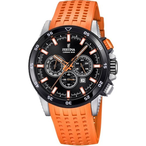Montre chronographe homme festina chrono bike 2018 collection f20353/6