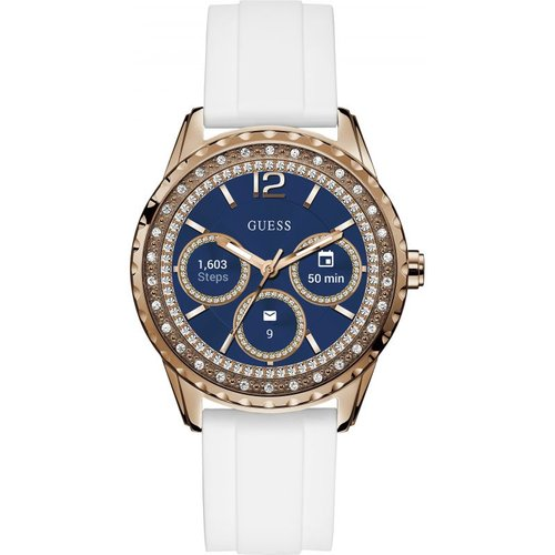 Montre chronographe femme guess connect android wear bluetooth c1003l1