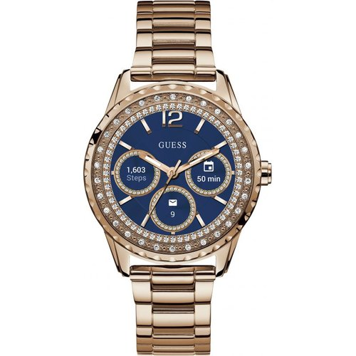Montre chronographe femme guess connect android wear bluetooth c1003l4